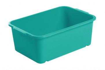 Plastový box Magic, veľký, morská modrá, 30x20x11 cm - POSLEDNÝCH 19 KS