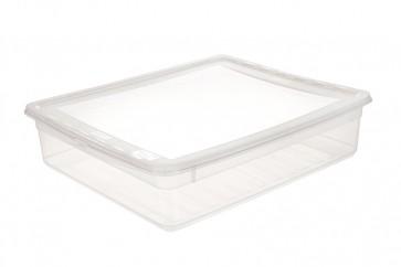 Plastový box Basixx 9 l, priehľadný.