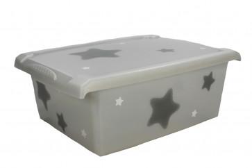 "Plastový box Fashion, ""Hviezda"", 39x29x14cm"