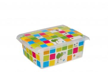 "Plastový box Fashion, ""KIDS"", 39x29x14 cm - POSLEDNÉ 4 KS"