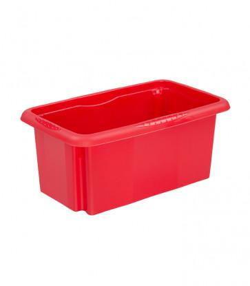 Plastový box Colours, 7 l, červený, 35x20,5x15,5 cm - POSLEDNÝCH 18 KS