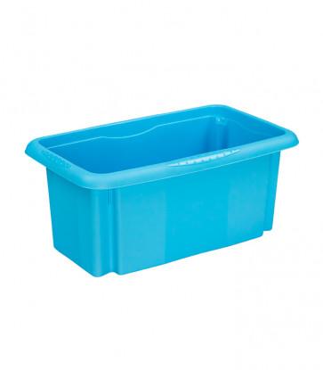 Plastový box Colours, 7 l, modrý, 35x20,5x15,5 cm - POSLEDNÝCH 7 KS