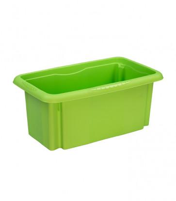 Plastový box Colours, 7 l, zelený, 35x20,5x15,5 cm - POSLEDNÉ 2 KS
