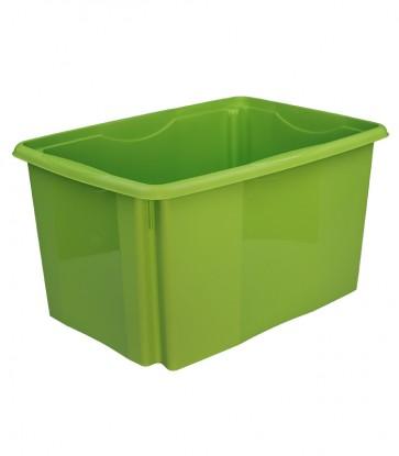 Plastový box Colours, 45 l, zelený, 55x39,5x29,5 cm - POSLEDNÝCH 28 KS