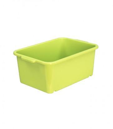 Plastový box Magic, malý, zelený, 25x17x10 cm