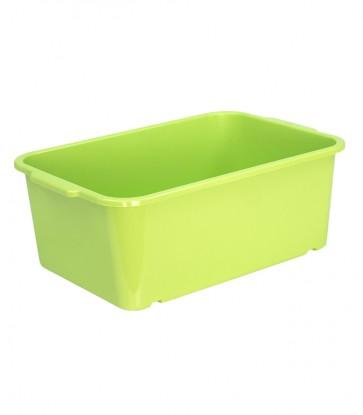 Plastový box Magic, velký, zelený, 30x20x11 cm -