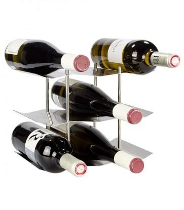 Stojan na víno na 9 fliaš - STOP