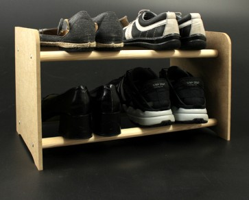 Regál na topánky Soft, 27x90,5x24 cm