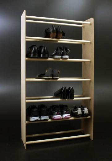 Regál na topánky Soft, 117x90,5x24 cm