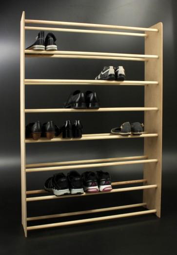 Regál na topánky Soft, 135x46x24 cm