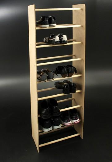 Regál na topánky Soft, 153x46x24 cm