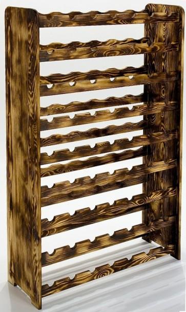 Regál na víno Racon, na 63 fliaš, prevedenie Rustikal, 118x72x27 cm