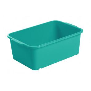 Plastový box Magic, veľký, morská modrá, 30x20x11 cm