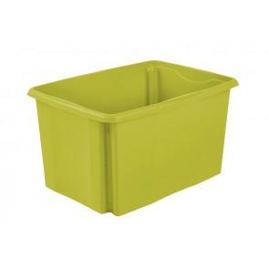 Plastový box Colours, 45 l, zelený bez veka, 55x39,5x29,5 cm - POSLEDNÝ KUS