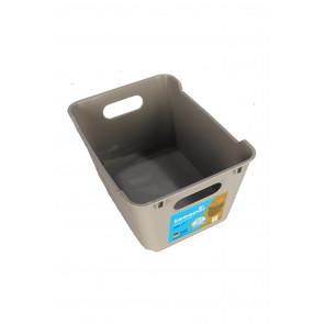 Plastový box LOFT 1,8 l, šedý, 19,5x14x10 cm