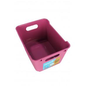 Plastový box LOFT 1,8 l, ružový, 19,5x14x10 cm