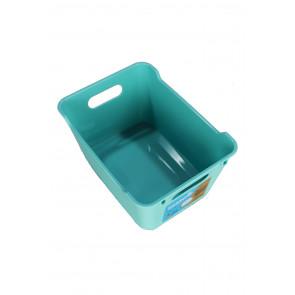 Plastový box LOFT 1,8 l, modrý, 19,5x14x10 cm