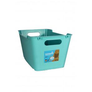 Plastový box LOFT 6 l, modrý,  29,5x19x15 cm