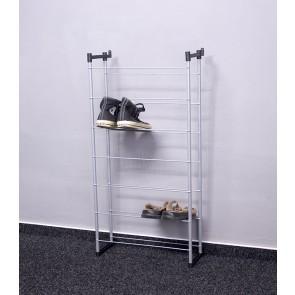 Kovový botník Praktik, 92x46x21 cm, 14 párov topánek