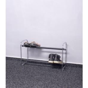 Kovový botník Elegant, 39x65x23 cm, 6 párov topánok