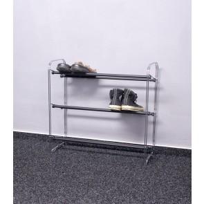 Kovový botník Elegant, 61x65x23 cm, 9 párov topánek