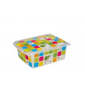 """Plastový box Fashion, """"KIDS"""", 39x29x14 cm - POSLEDNÝCH 5 KS"""