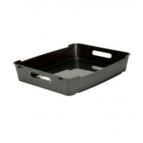 Plastový box LOFT A4, grafit, 37x28,5x6,5 cm - POSLEDNÍCH 9 KS