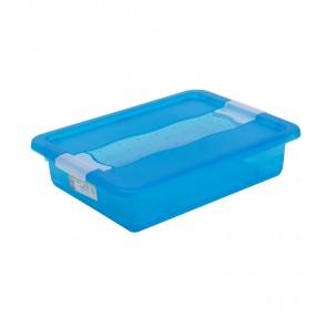 Plastový box Crystal 7 l, svieži modrý, 39,5x29,5x9,5 cm - POSLEDNÉ 3 KS