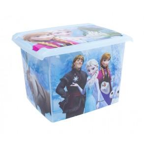 """Plastový box Fashion, """"Frozen"""", 39x29x27cm"""