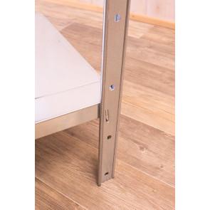 Kovový regál Idea, 6 políc, 200x100x50 cm, 130kg