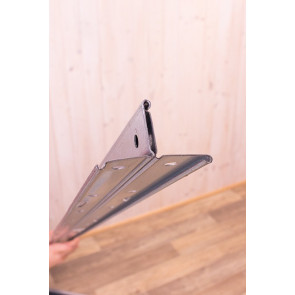 Kovový regál Idea, 6 polic, 300x100x50 cm, 130kg