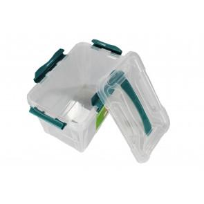 Plastový Clippy box, 15,3 l, priehľadný, 39x29x18cm - POSLEDNÝCH 6 KS