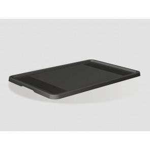 Plastový vrchnák Eurobox 60x40 cm, grafit