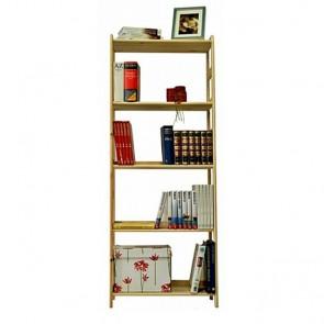 Drevený regál Rosary, 5 políc, 166x66x33 cm