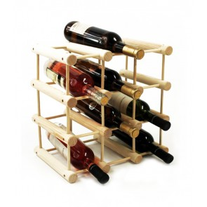 Stojan na víno Stavebnice, na 9 fliaš