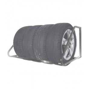 Nástenný regál na pneumatiky - pozink