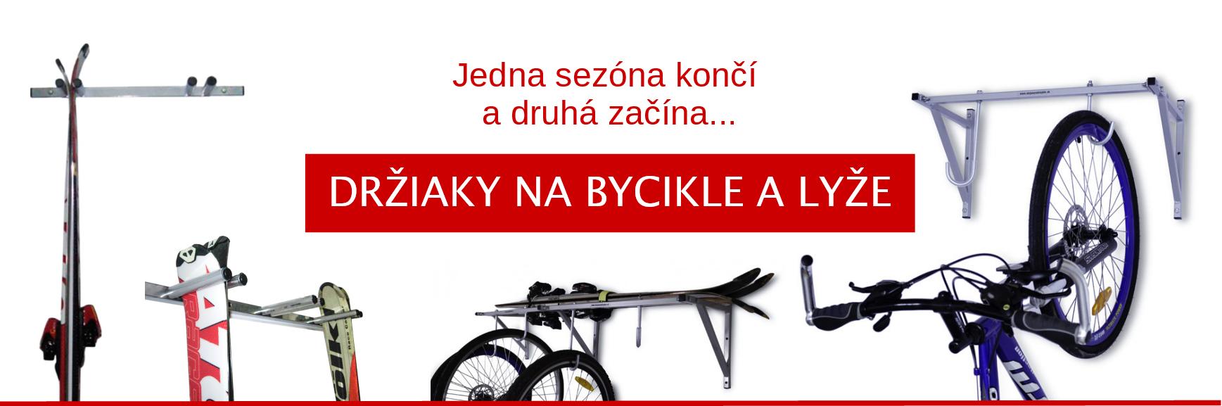 Držiaky na bicykle a lyže